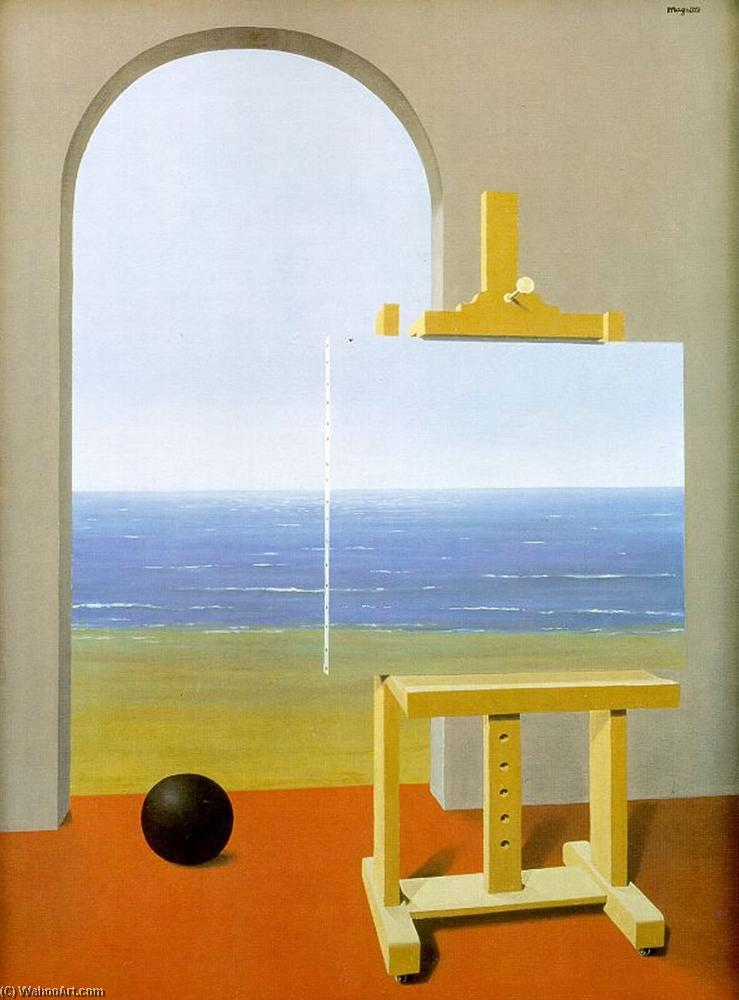 famous painting La condizione umana of Rene Magritte