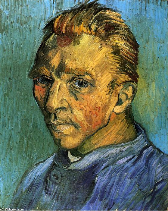 famous painting autoritratto of Vincent Van Gogh