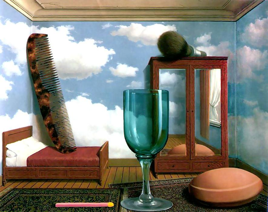 famous painting Valori personali of Rene Magritte