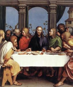 Hans Holbein The Younger - L ultima Cena
