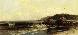 Alfred Thompson Bricher - Rompere Surf 1