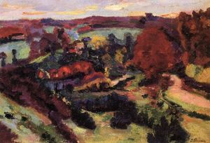 Jean Baptiste Armand Guillaumin - Crozant in autunno