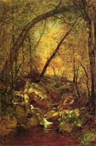Thomas Worthington Whittredge - Sole sulla Brook