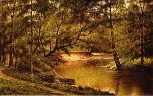Thomas Worthington Whittredge - Woodland Interni