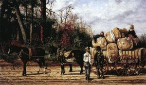 William Aiken Walker - Wagon Scene