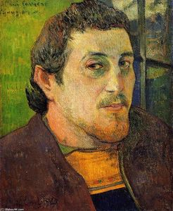 Paul Gauguin - Autoritratto a Lezaven