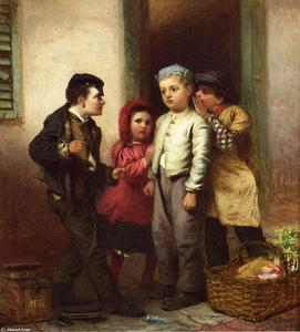 John George Brown - Spiacente Parlava