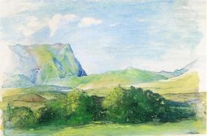 John La Farge - Il Aora, Looking South da Papeete, Tehiti
