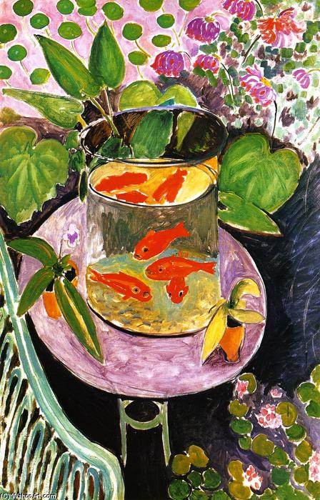 famous painting Pesce rosso of Henri Matisse