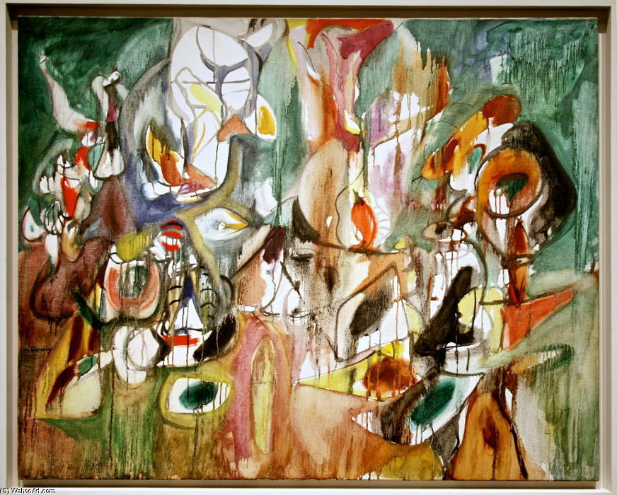 famous painting Un Anno della Milkweed of Arshile Gorky
