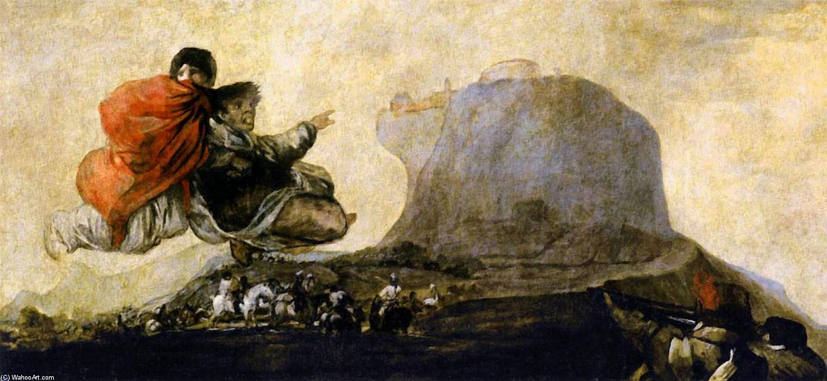 famous painting Asmodea of Francisco De Goya