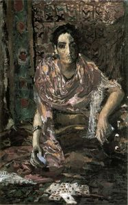Mikhail Vrubel - The Fortune Teller