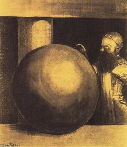 Odilon Redon - The Prisoner (Boulet)