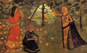 Paul Serusier - la gioventù of Regina Anne