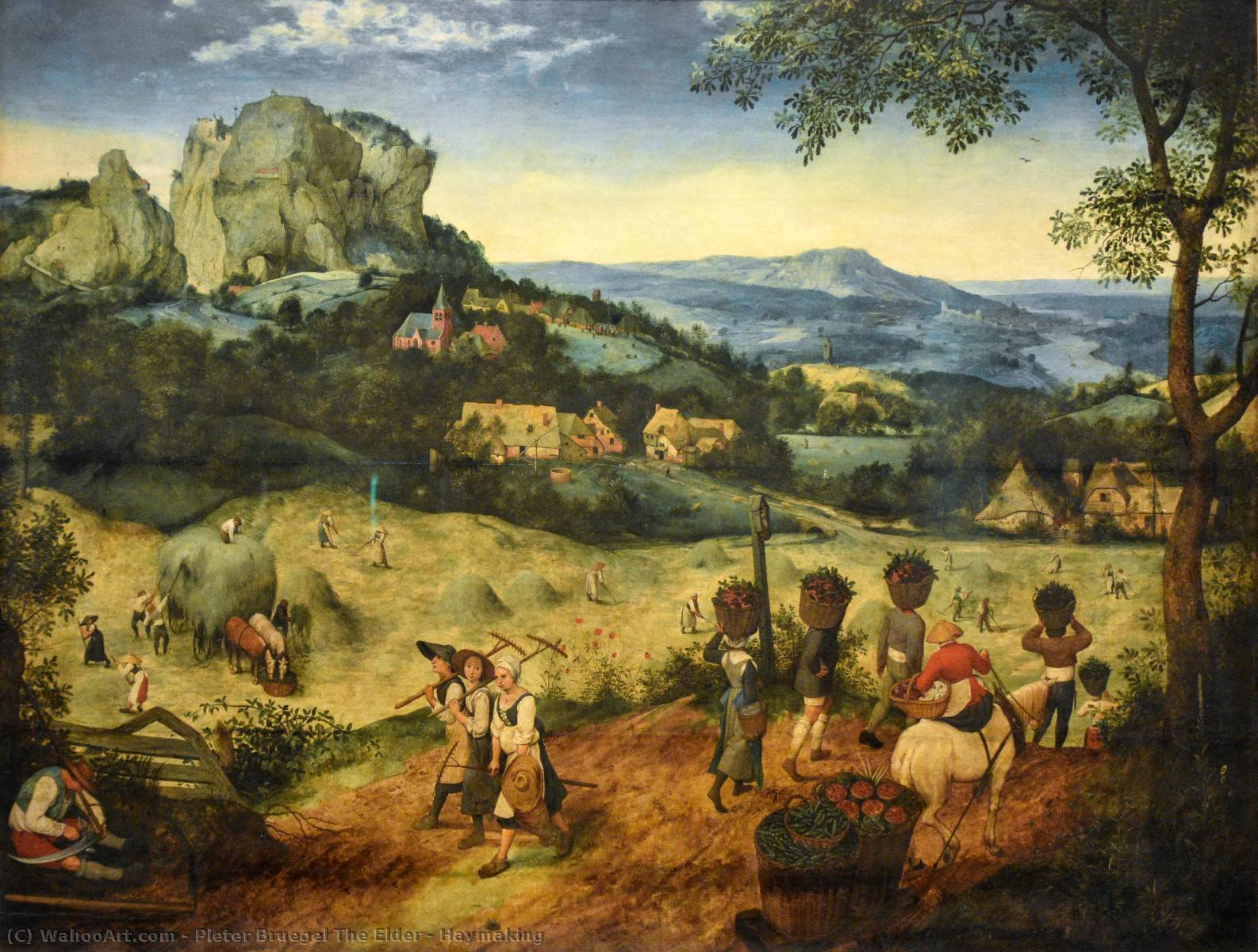 famous painting Fienagione of Pieter Bruegel The Elder