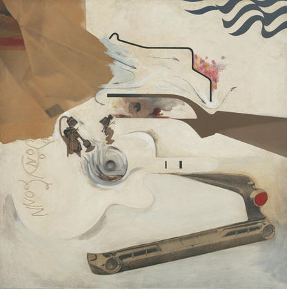 famous painting Glorioso Techniculture of Richard Hamilton