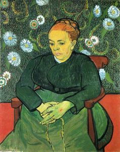 Vincent Van Gogh - La signora Roulin Rocking the Cradle (A ninna nanna)