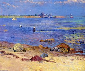 William James Glackens - Treading Vongole, Wickford