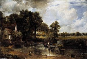 John Constable - The Hay Wain-