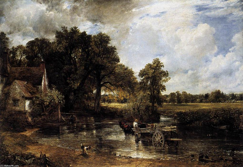 famous painting The Hay Wain- of John Constable