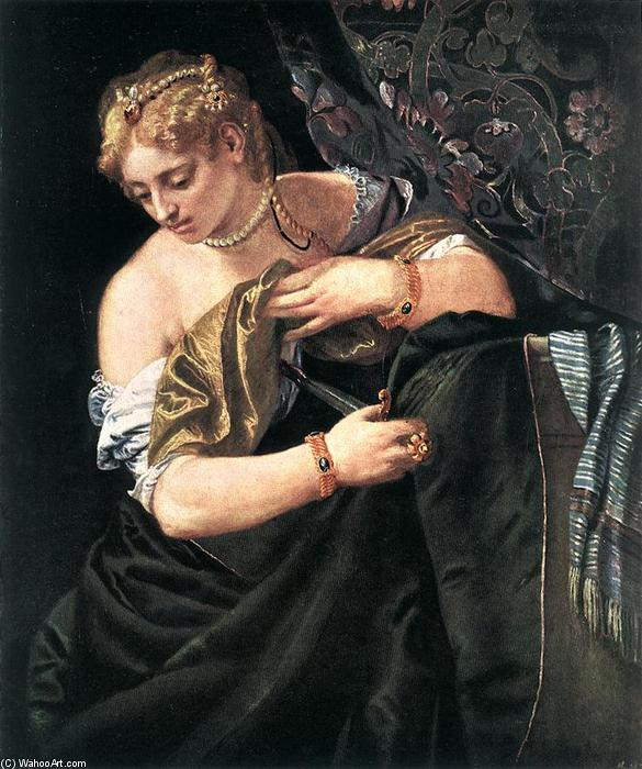 famous painting Lucrezia of Paolo Veronese