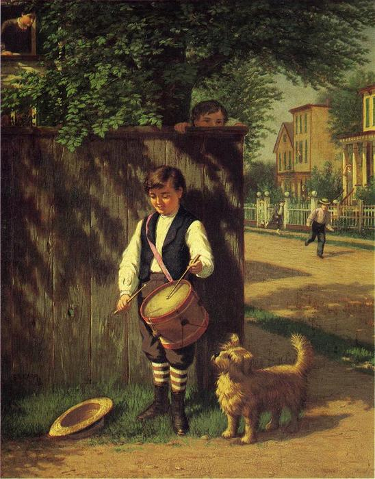 famous painting Little Drummer Boy of Samuel S Carr