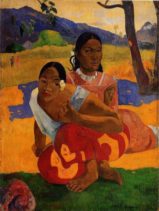 famous painting nafeaffaa ipolpo ( conosciuto anche come when you will marry . ) of Paul Gauguin