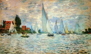 Claude Monet - Regata ad Argenteuil