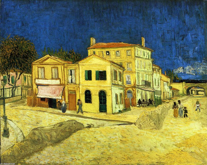famous painting il strada Antartico  giallo  Casa  of Vincent Van Gogh
