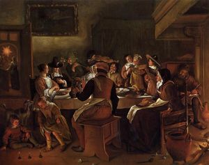 Jan Steen - Dodicesima Notte