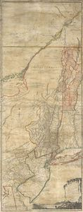Thomas Jefferys - le province di new york