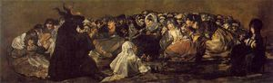 Francisco De Goya - La Grande Lui capra o Witches Sabbath