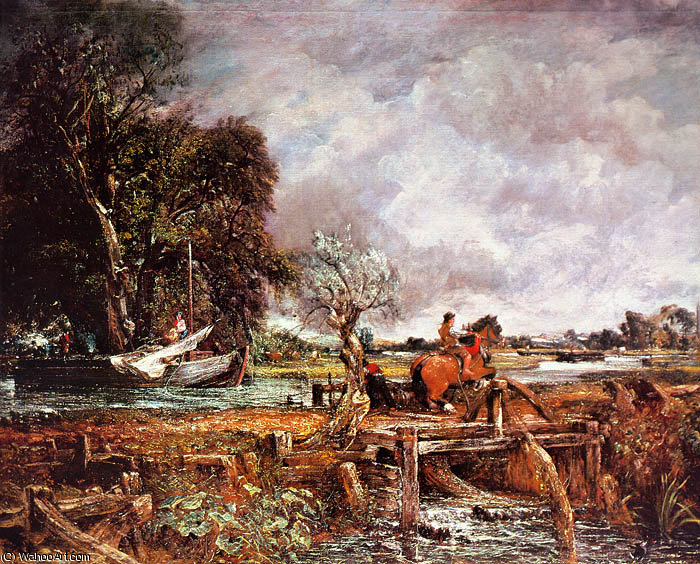 famous painting Il Leaping Horse of John Constable