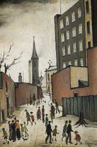 Lawrence Stephen Lowry - Albione mulino